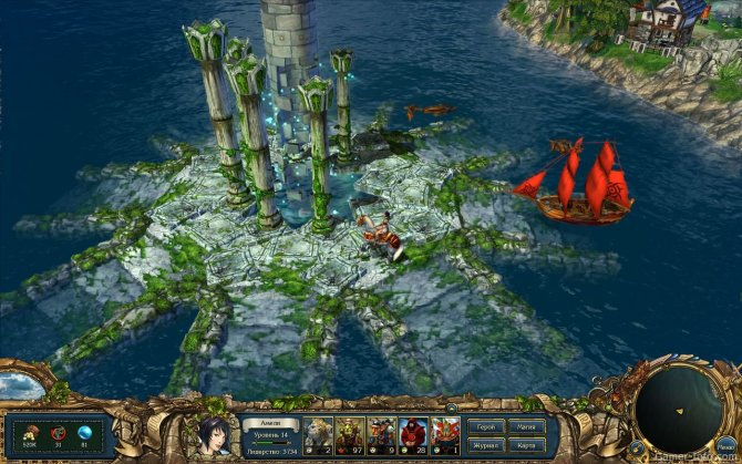 Скриншот игры King's Bounty: Перекрестки миров