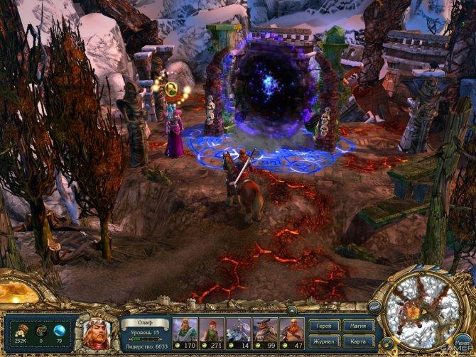 Скриншот игры King's Bounty: Воин Севера