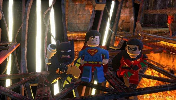 Скриншот игры LEGO Batman 2: DC Super Heroes