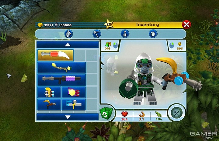 LEGO CHIMA TRIBE FIGHTERS Online - Play for Free at