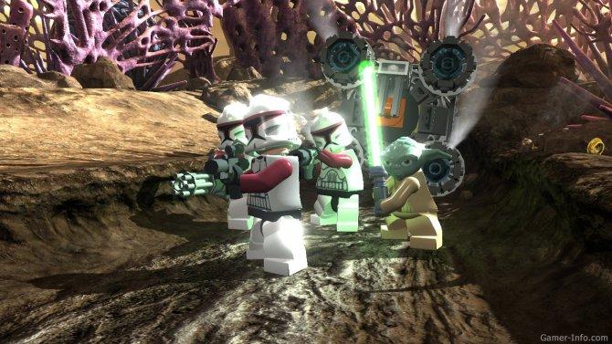 Скриншот игры LEGO Star Wars III: The Clone Wars