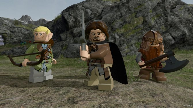 Скриншот игры LEGO The Lord of the Rings