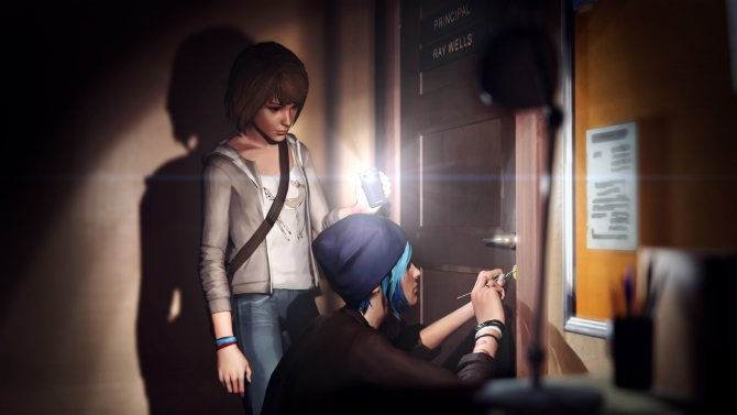 Скриншот игры Life is Strange