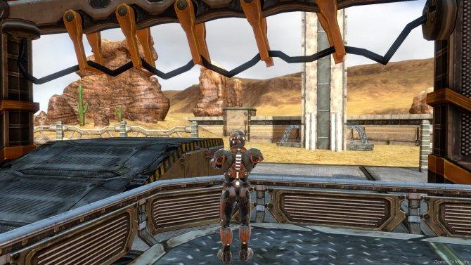 Скриншот игры Line of Defense