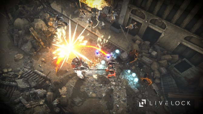Скриншот игры Livelock