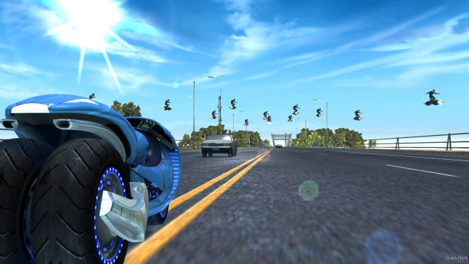 Скриншот игры LocoCycle