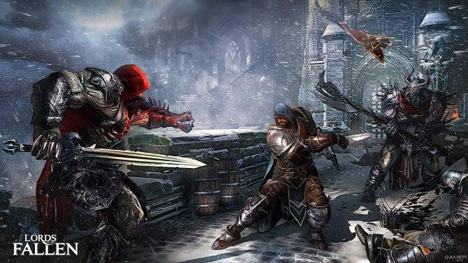 Скриншот игры Lords of the Fallen