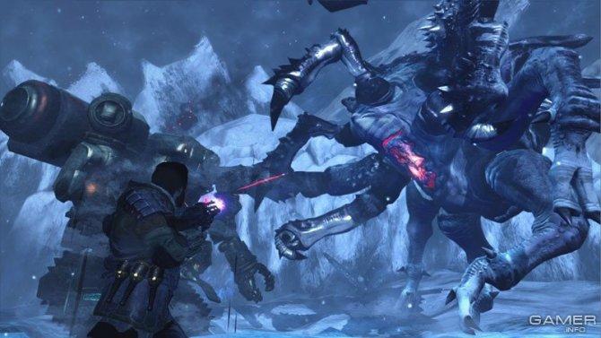 Скриншот игры Lost Planet 3