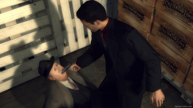 Скриншот игры Mafia II