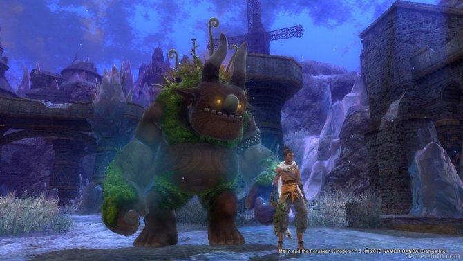 Скриншот игры Majin and the Forsaken Kingdom