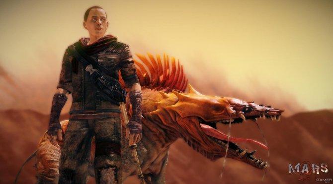 Скриншот игры Mars: War Logs