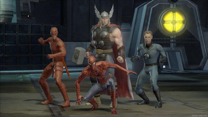 Скриншот игры Marvel Ultimate Alliance 2