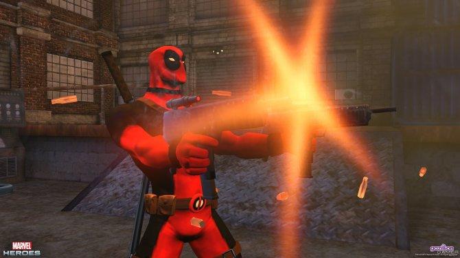 Скриншот игры Marvel Heroes Online
