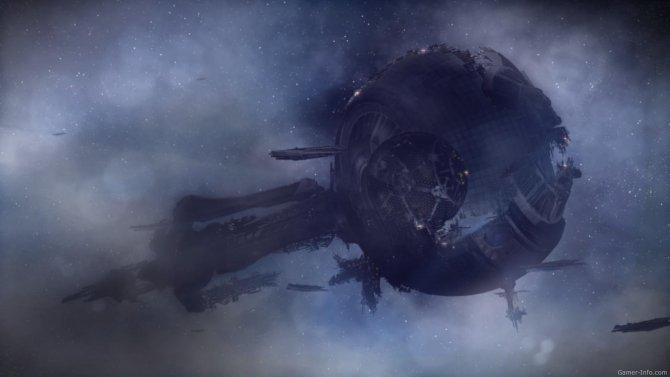 Скриншот игры Mass Effect 3