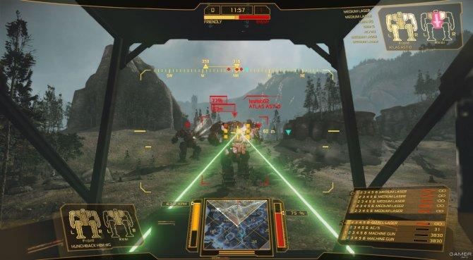 Скриншот игры MechWarrior Online