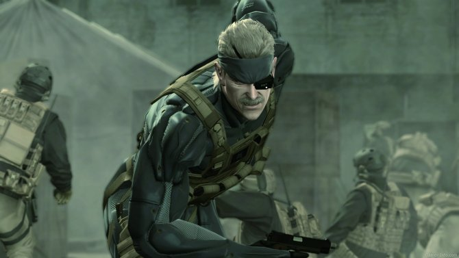 Скриншот игры Metal Gear Solid 4: Guns of the Patriots