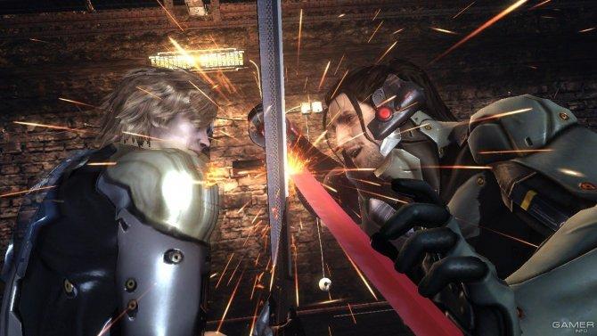 Скриншот игры Metal Gear Rising: Revengeance