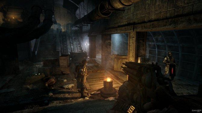 Скриншот игры Metro Redux