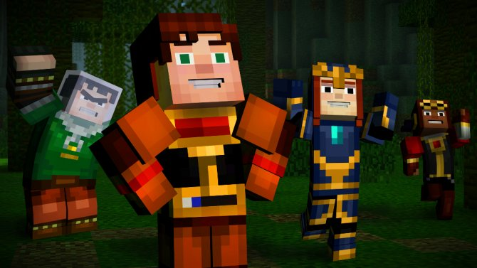 Скриншот игры Minecraft: Story Mode - A Telltale Games Series