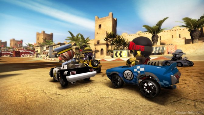 Скриншот игры ModNation Racers