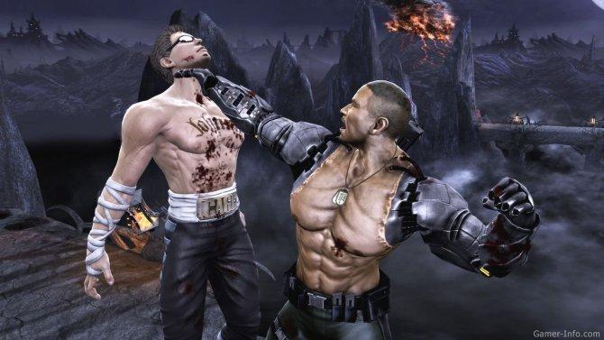 Скриншот игры Mortal Kombat