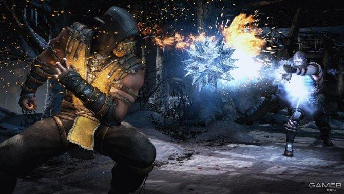 Скриншот игры Mortal Kombat X
