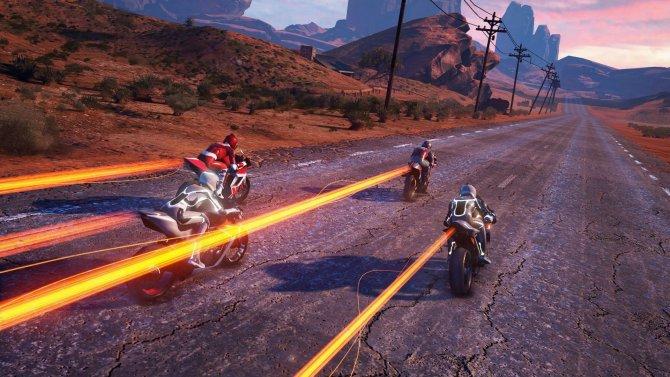 Скриншот игры Moto Racer 4