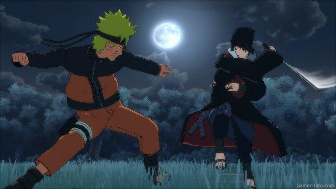 Скриншот игры Naruto Shippuden: Ultimate Ninja Storm 2