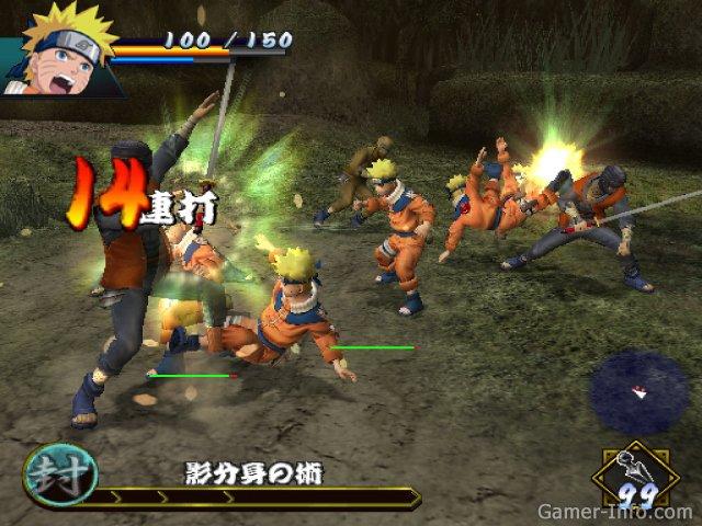 Naruto uzumaki chronicles 3 ps2
