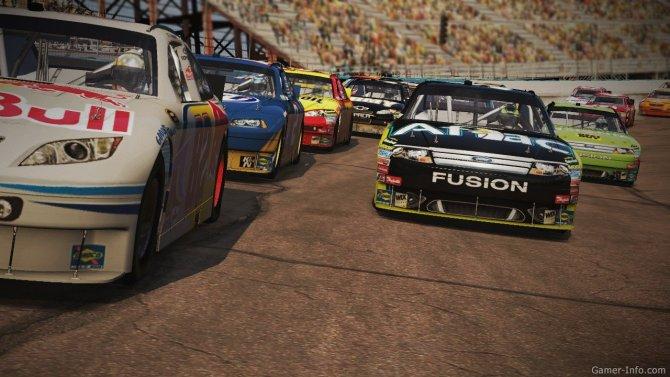 Скриншот игры NASCAR The Game 2011