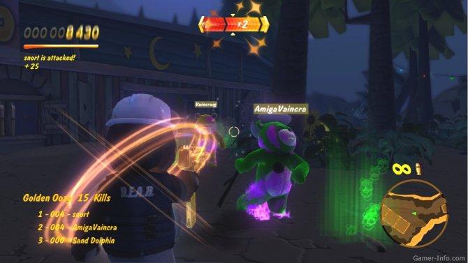 Скриншот игры Naughty Bear