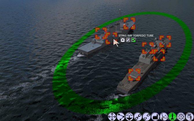 Скриншот игры Naval War: Arctic Circle
