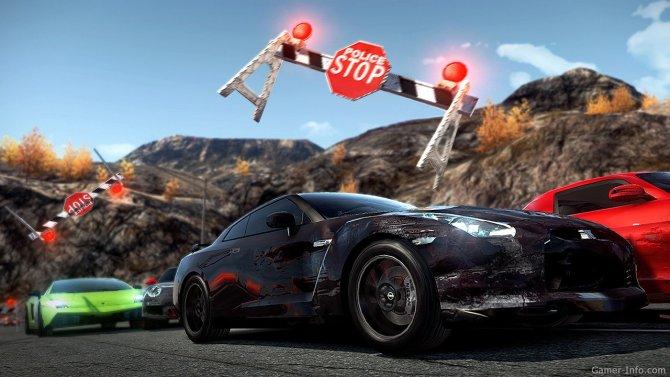 Скриншот игры Need For Speed: Hot Pursuit