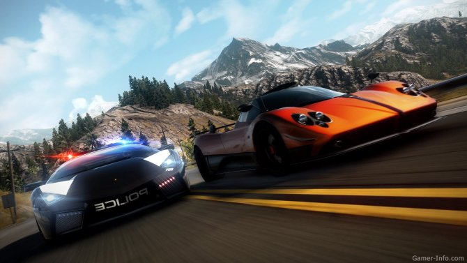 Скриншот игры Need For Speed: Hot Pursuit