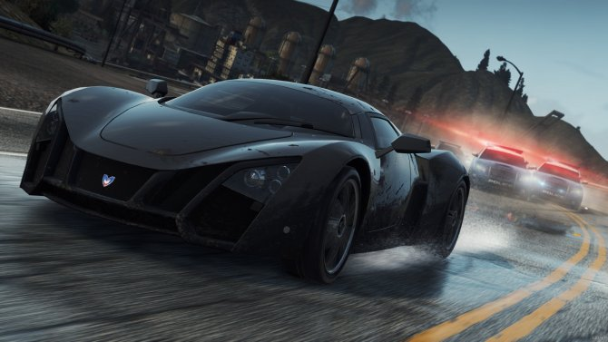 Скриншот игры Need for Speed: Most Wanted