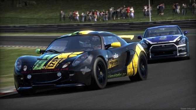 Скриншот игры Need for Speed Shift