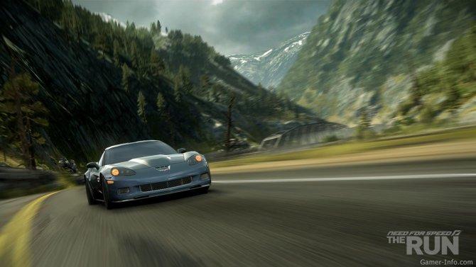Скриншот игры Need for Speed: The Run