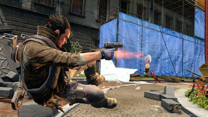 Скриншот игры NeverDead