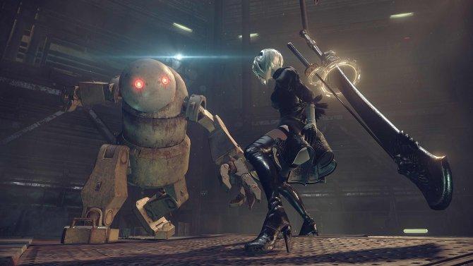 Скриншот игры Nier Automata