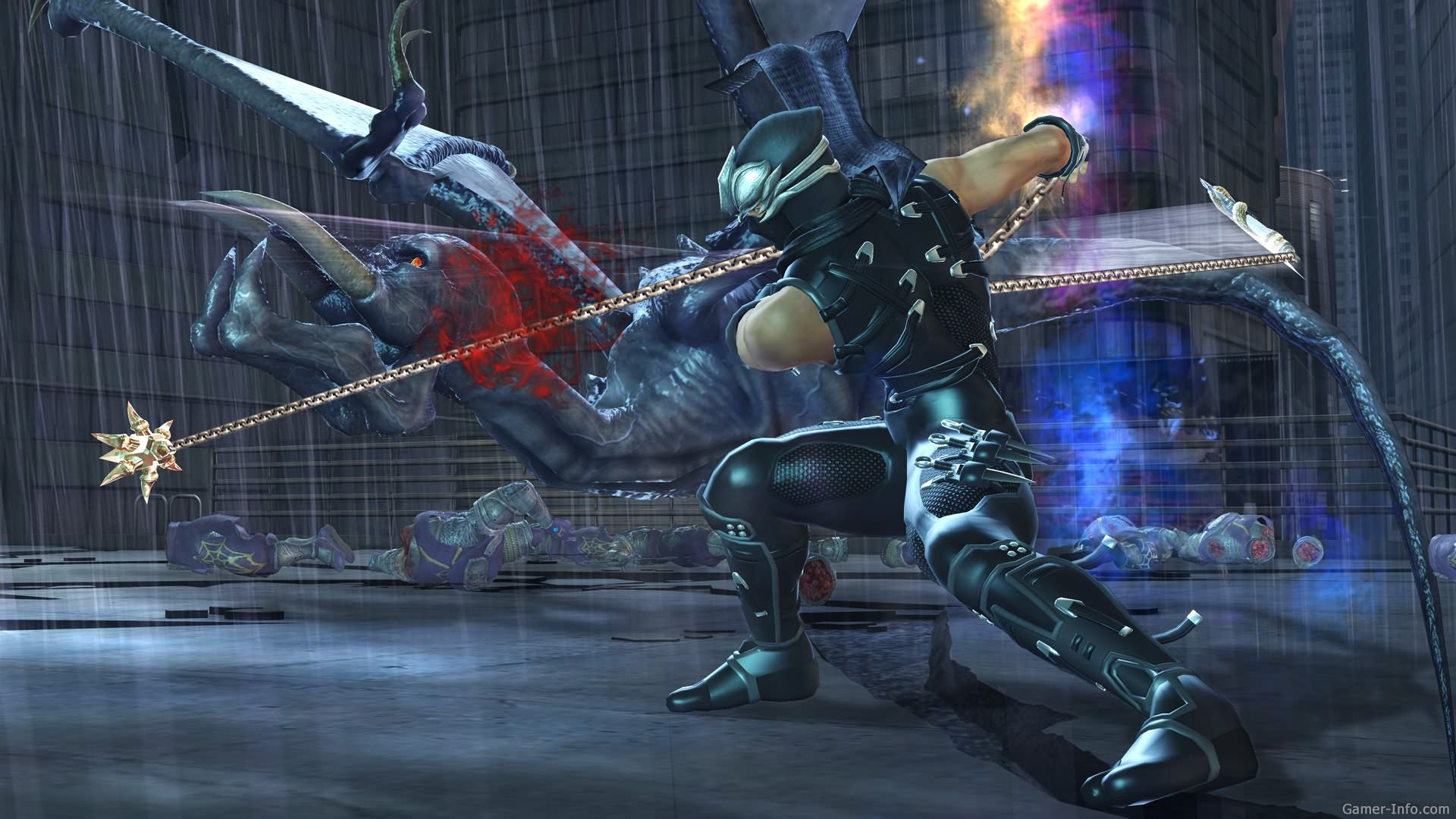 Ninja Gaiden II screenshots, images and pictures - Giant Bomb Ninja gaiden 2 pictures