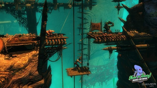 Скриншот игры Oddworld: New 'n' Tasty