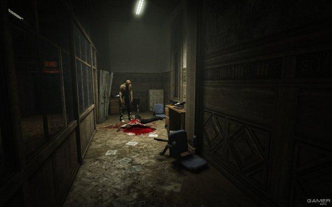Скриншот игры Outlast