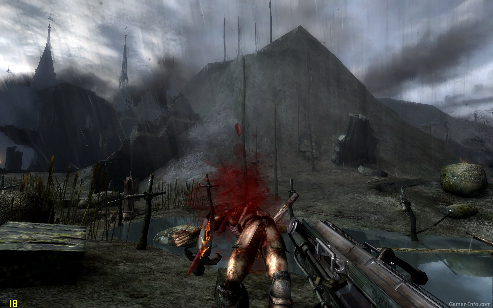 Painkiller: resurrection - скриншоты