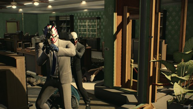 Скриншот игры PayDay 2