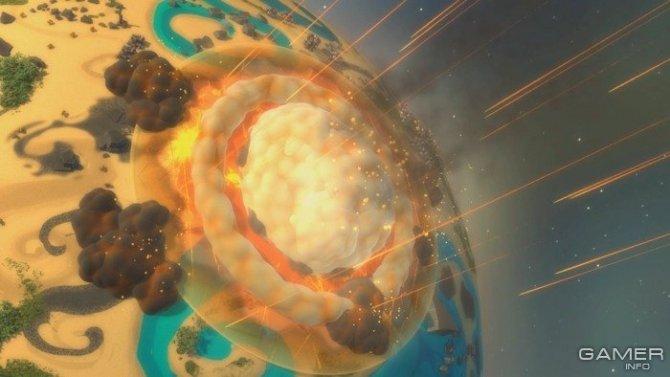 Скриншот игры Planetary Annihilation