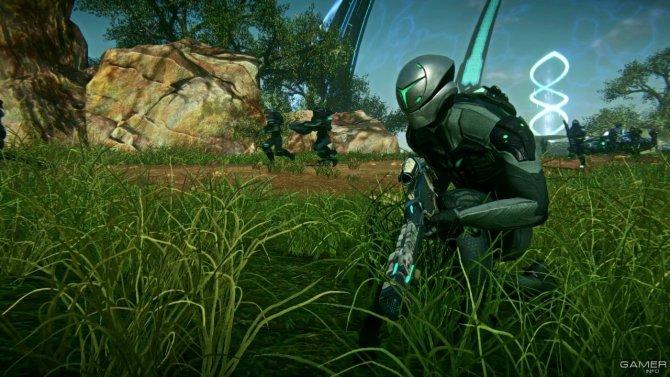 Скриншот игры PlanetSide 2