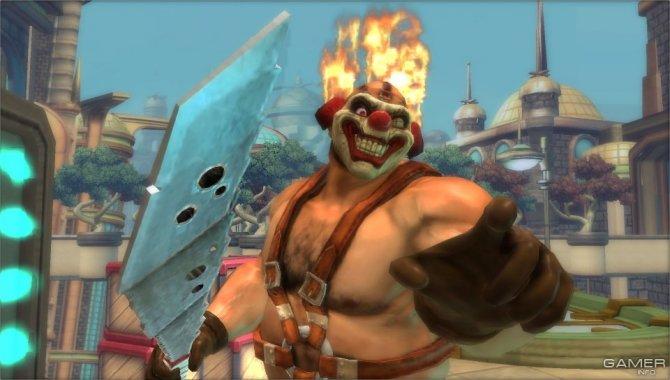 Скриншот игры PlayStation All-Stars: Battle Royale