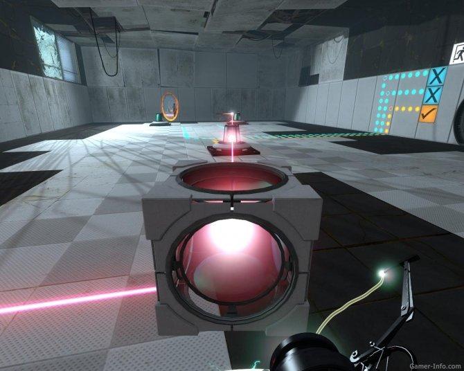 Скриншот игры Portal 2