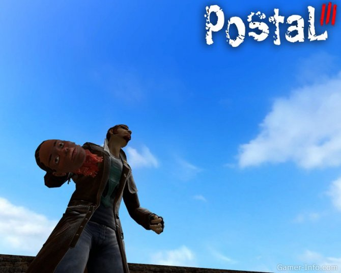 Скриншот игры Postal III
