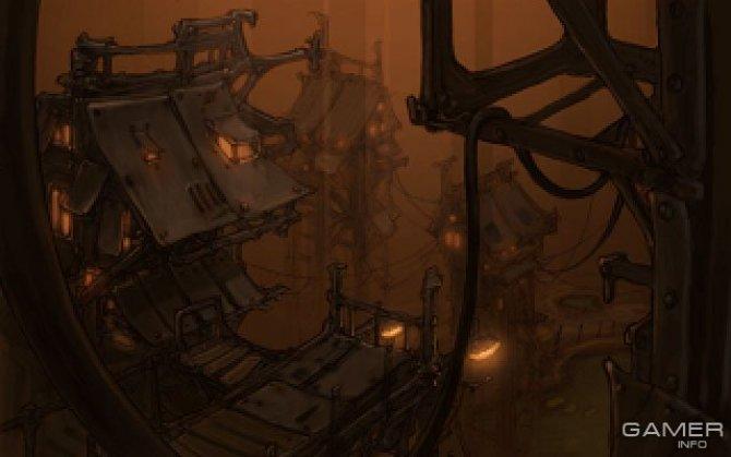 Скриншот игры Primordia